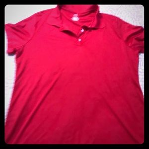 Hanes Cool Dry Polo Red XL